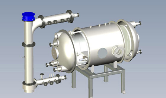 SImulation Chamber 3D Rendering